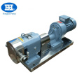 Stainless steel sanitary rotary lobe pump
